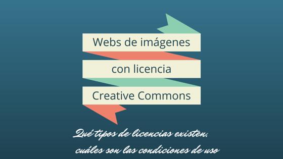 Webs de imágenes con licencia CC