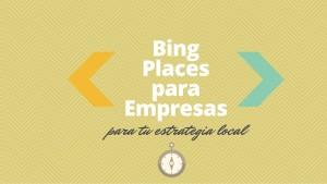 Bing Places para Empresas