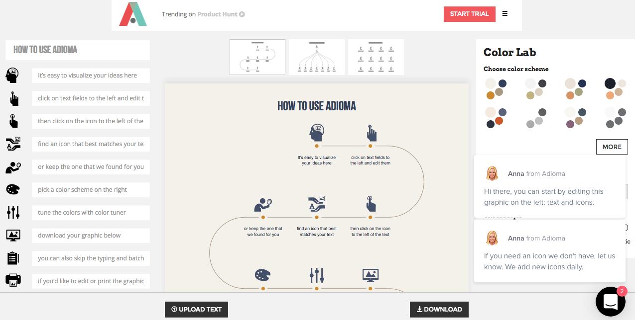 Adioma infografias