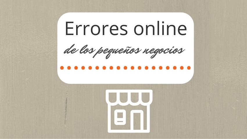errores online