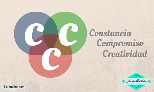 constancia compromiso creatividad