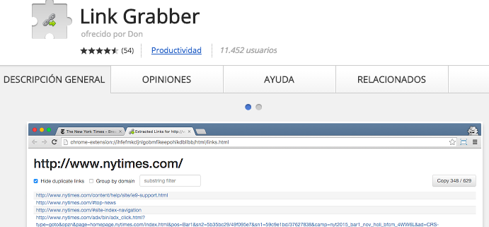 link grabber seo toolbar chrome