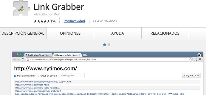 link grabber seo toolbar chrome