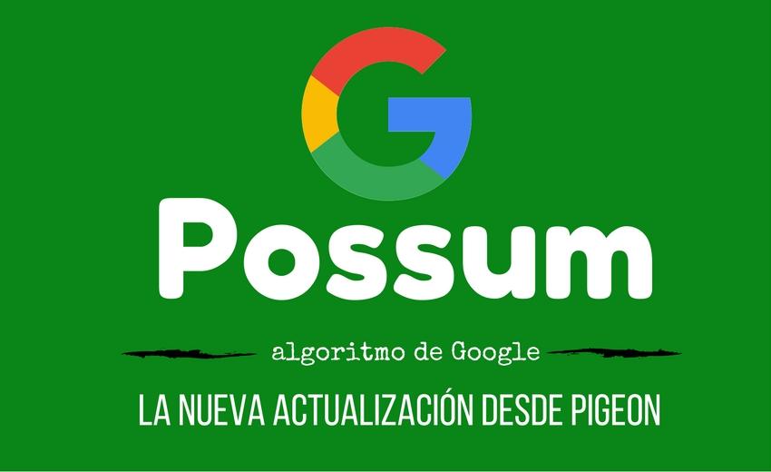 google possum negocios locales