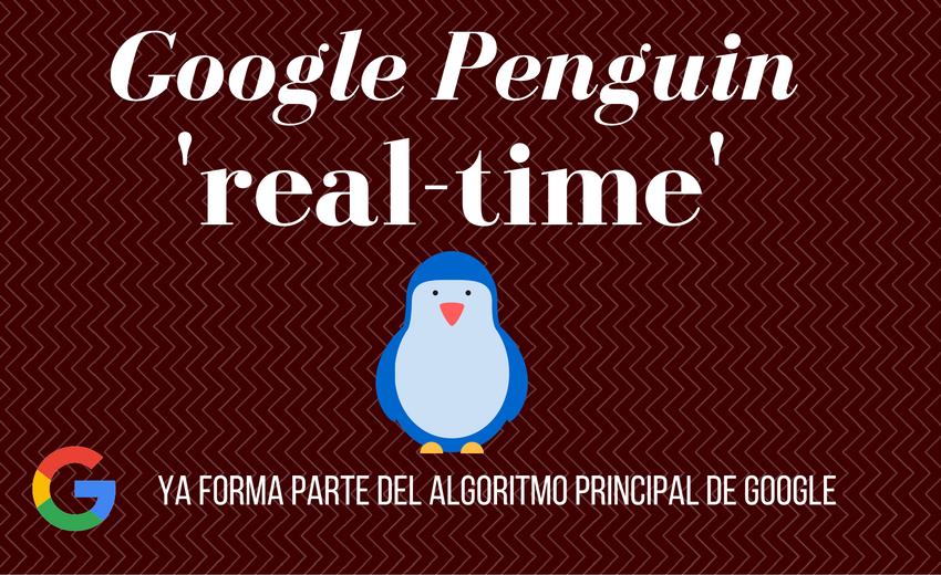 google penguin trabaja en tiempo real